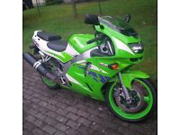 Kawasaki ZX600 Lowered and restricted