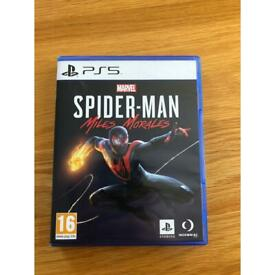New PS5 Spider-Man miles morales