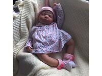 Beautiful heavy reborn baby doll