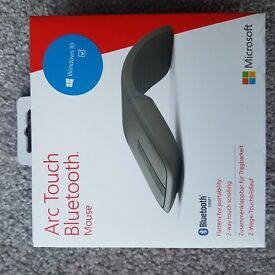 Microsoft Arc Touch Bluetooth Mouse - Brand New