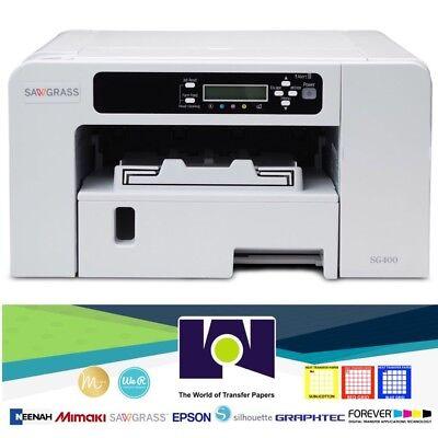 Sawgrass Sg400 Virtuoso Printer Set Cmyk Ink Free Design Studio Free Shipping