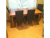 Next Hudson Oak Table