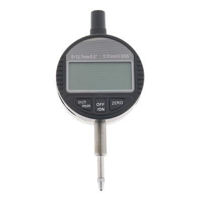 0-12.7mm0.5 Range Gauge Digital Dial Indicator Precision Tool Heavy Duty