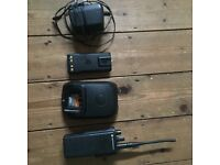Walkie Talkie - DP4400 Motorola two way radio with charging base & batteries