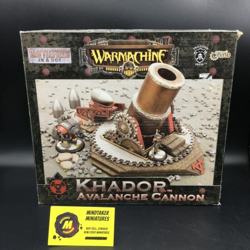 Warmachine - Khador - Avalanche Cannon (NIB) - #25915