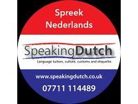 DUTCH LANGUAGE COURSES, Teacher of Dutch, Culture, Customs and Etiquette