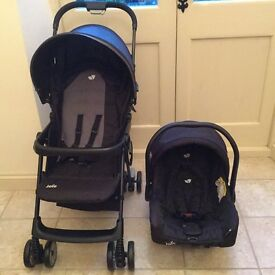 Joie Juva Travel System - Lightweight Buggy and Infant Car Seat
