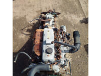 Mazda T3000 Perkins 4.182 3.0 diesel engine and gearbox for truck.