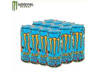 Monster energy drink mango loco cans
