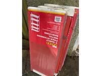 B&Q Red Metal Shelving