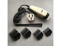 WAHL Hair Trimmer Plus Accessories (needs sharpening)