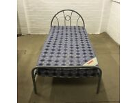 Single bed with clean mattress (free delivery)