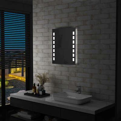 vidaXL Espejo de Pared de Baño con LED 50x60 cm de Aumento...