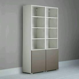 John Lewis Match Tall Single Shelf Unit