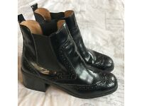 River Island black boots size 5
