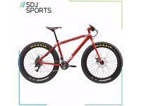 """Charge Cooker 1 Maxi Red 17.5"""" Fat Bike with manufacturer warranty"""