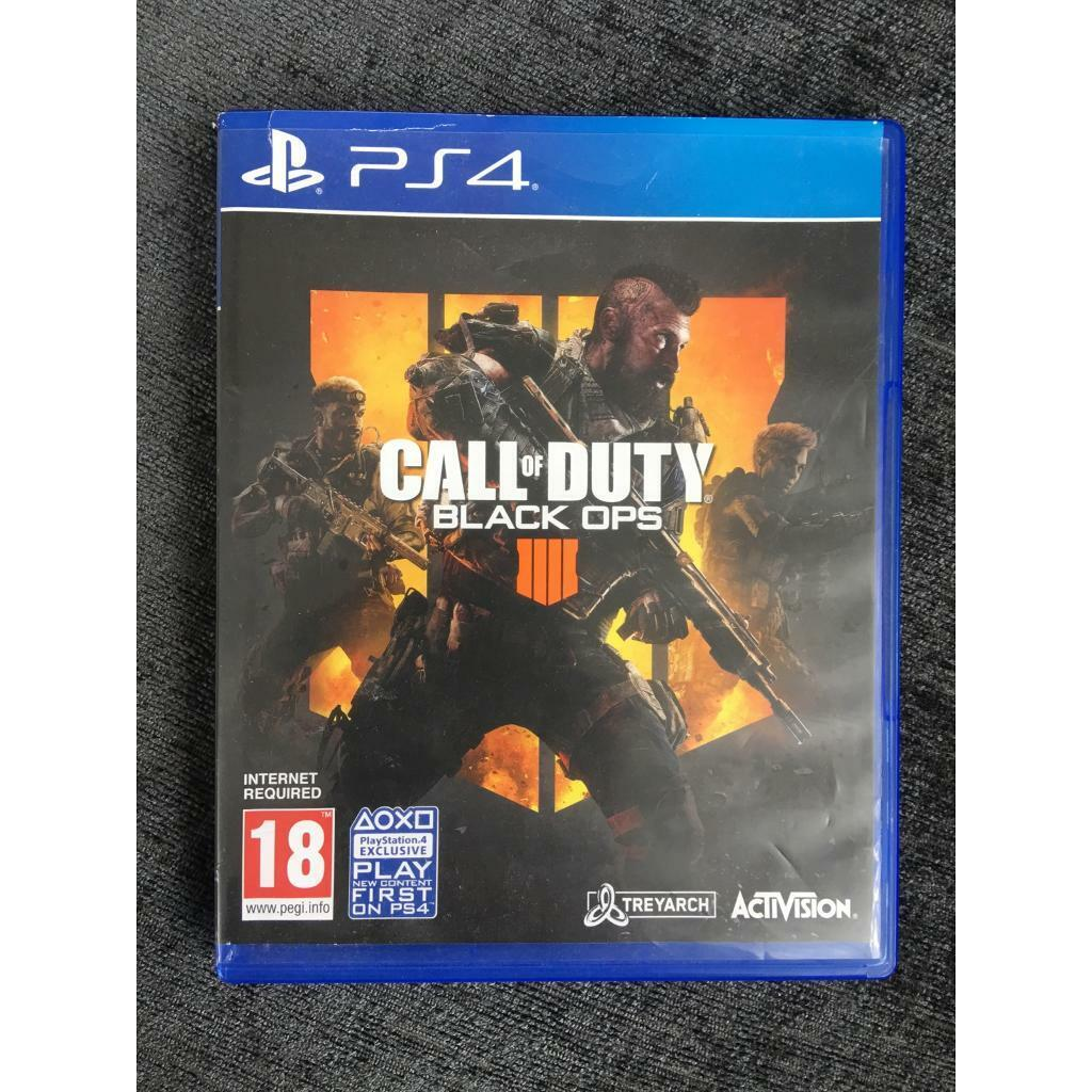 Call of duty Black Ops 4 PS4/ PS4 games   in Acton, London   Gumtree
