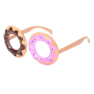 Funny Party Sunglasses Doughnut Glasses Eye Wear Costume Prop for Adult Kids