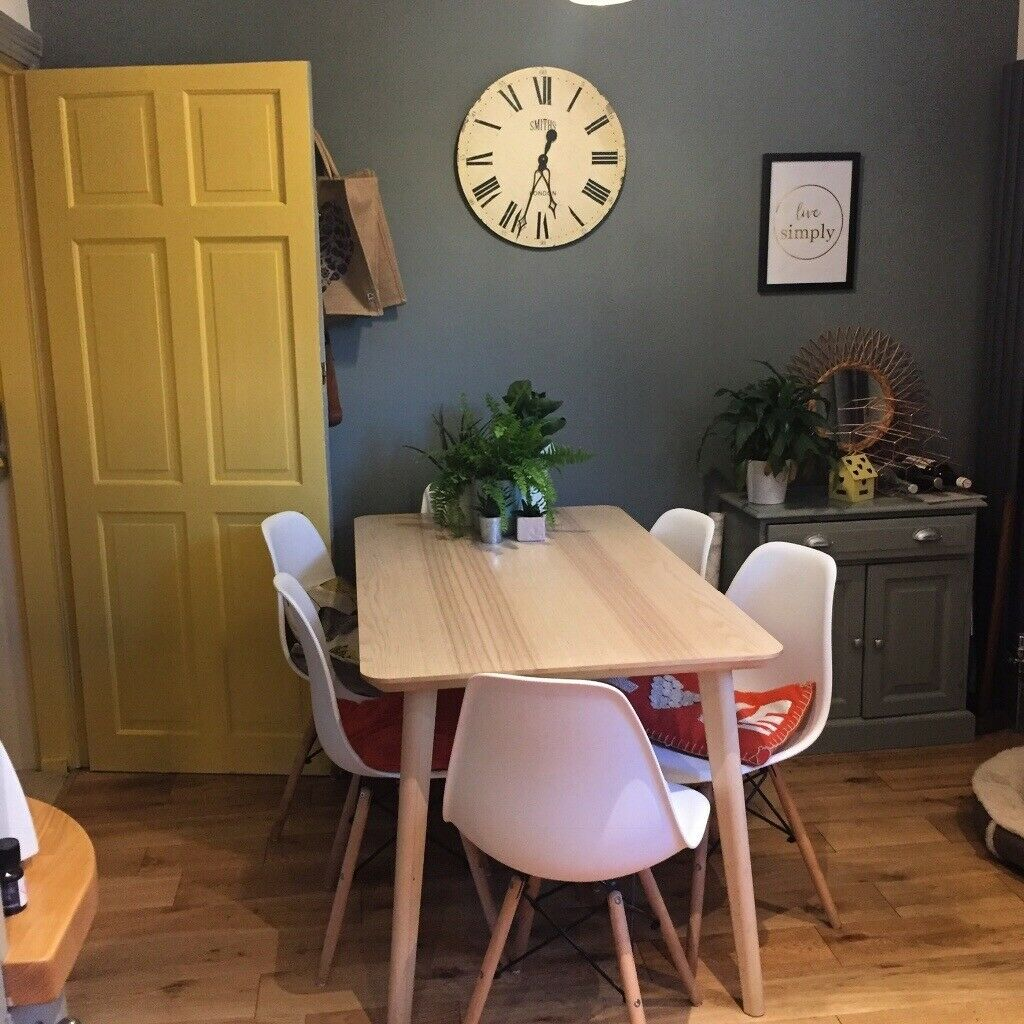 Enjoyable Ikea Lisabo 6 Seater Dining Table Ash Wood In Huddersfield West Yorkshire Gumtree Download Free Architecture Designs Rallybritishbridgeorg