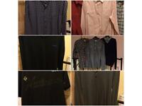 Mixed lot of 19 men's tops