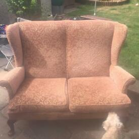 Parker knoll two seater sofa