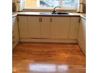 Real oak flooring. Junkers 18mm t&g
