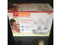 Ameda Purely Yours Lactaline Double Electric Breast Pump