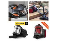 FREE DELIVERY VAX BAGLESS CYLINDER VACUUM CLEANERS