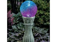 BRAND NEW Color-Changing Solar Gazing Ball