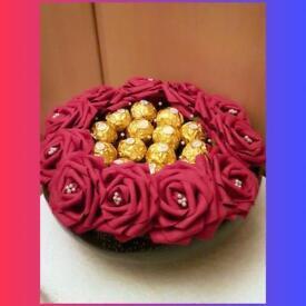 Ferrero rocher chocolate flower bouquet