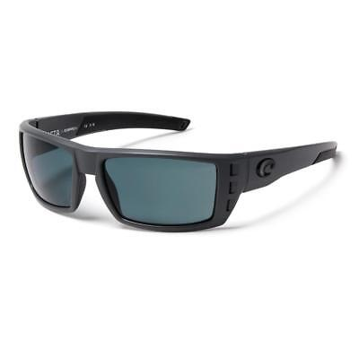 9bf8bf4d80006 New Costa Del Mar Rafael OCEARCH Polarized Sunglasses 580P Matte Gray Gray