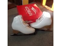 Ladies / Girls Figure Ice Skate size 4. Made in Italy by Edea. Worn 3 sessions. Excellent condition.