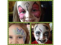 FACE PAINTER ~ PAINTING ~ GLITTER TATTOOS