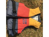 Life jacket buoyancy aid