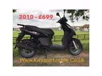 MOTORCYCLES -SCOOTERS ETC FROM £699 WITH MOT WARRANTY ETC AT KICKSTART BELFAST