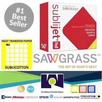 Sawgrass Virtuoso Sublimation Ink Cartridge Sg400sg800 Yellow20 Sh Sublicotton
