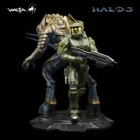 Wanted: Weta Master Chief and Arbiter statue