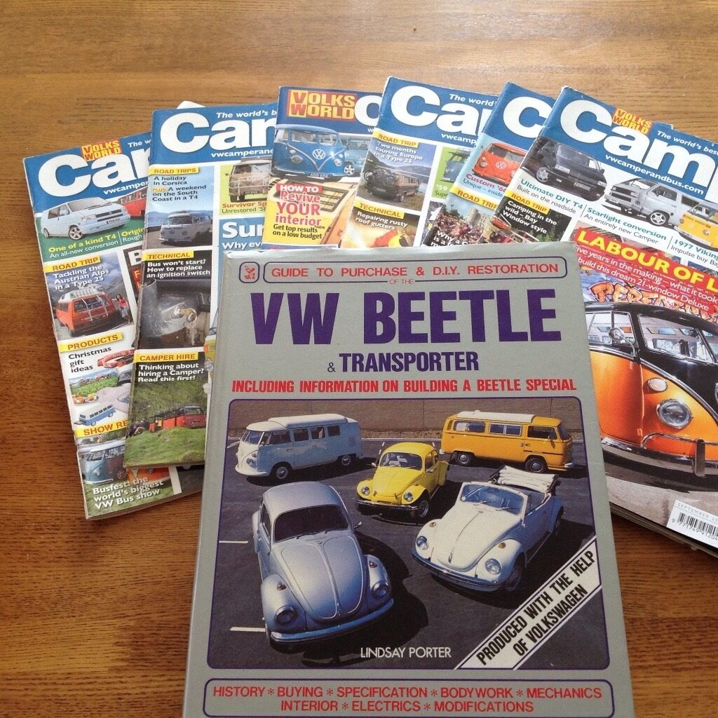 VW BUS T4&T5 VW MAGAZINESVW Hardback Book (JOB LOT 25in Pontyclun, Rhondda Cynon TafGumtree - VW BUS T4&T5 VW MAGAZINES VW Hardback Book (JOB LOT 25 ) All have been read but are in very good condition, has loads of interesting features on volkeswagons,buses and camper vans