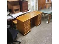 Soild pinewood dressing table