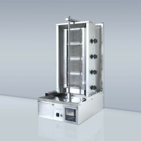 Doner Kebab Machine with Knife and Door | Shawarma Machine | 4 (Brand New) Burner
