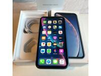 iPhone XR Blue 64gb UNLOCKED
