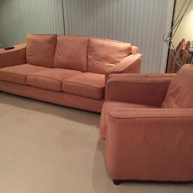 Sofa for sale 3 seater and armchair