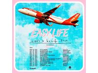 Easy Life standing tickets, Morningside Arena Leicester, Friday 5th November 2021