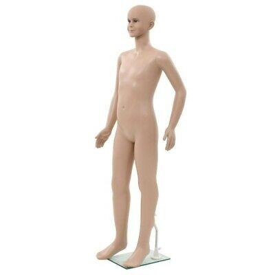 Vidaxl Full Body Child Mannequin Dress Clothing Form Display With Glass Base