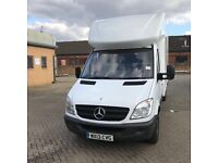 2013 Mercedes sprinter 313 Luton with tail lift Diesel Manual