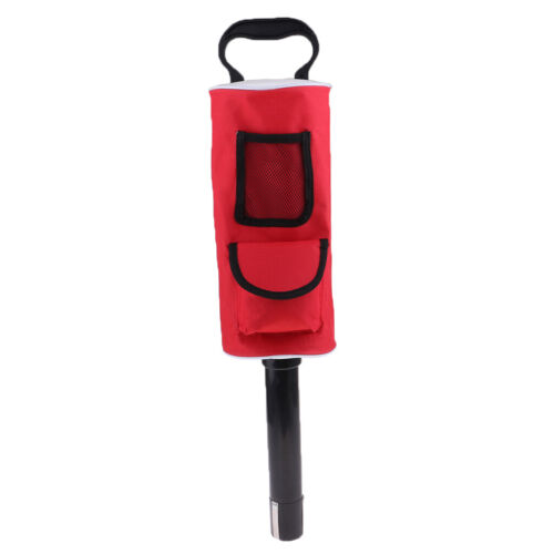 Golf Ball Picker Pick Up Zipper Shag Tube Bag Handle Retriev