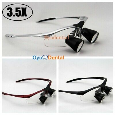 3.5x Dental Loupe Binocular Medical Surgical Loupes Magnifying Glass Ttl Series