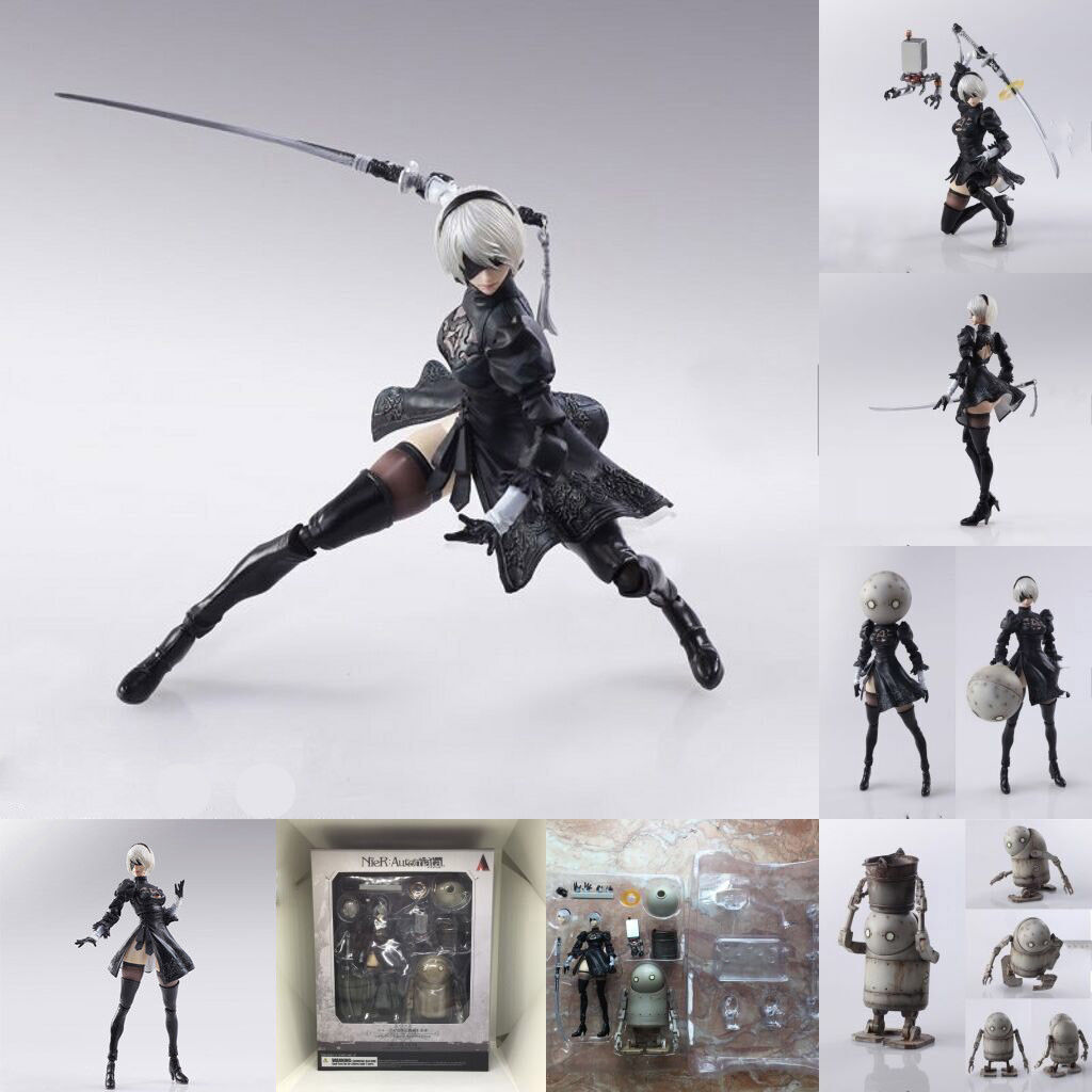 Premise Indicator Words: NieR:Automata 2b FIGMA ACTION Figure Authentic Bring Arts