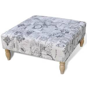 Stool Footrest Ottoman Patterned Square 80 x 80 x (SKU 241060) Mount Kuring-gai Hornsby Area Preview