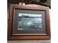Tynemouth Pool and Long Sands framed picture